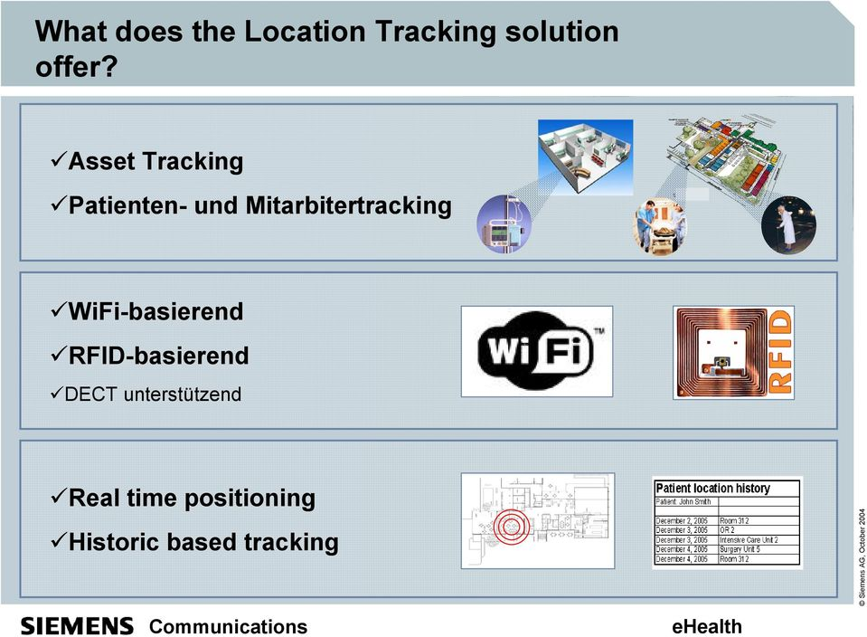 Mitarbitertracking 9WiFi-basierend