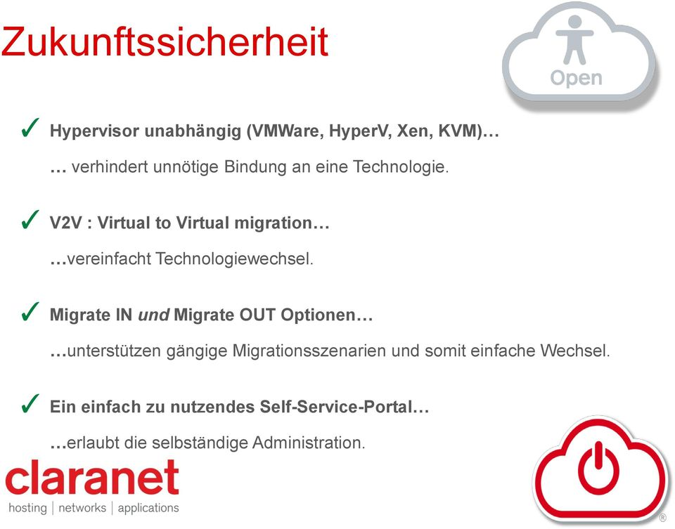 V2V : Virtual to Virtual migration vereinfacht Technologiewechsel.