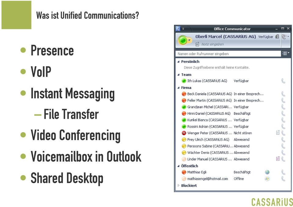 File Transfer Video Conferencing