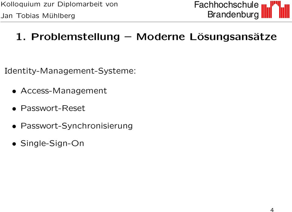 Identity-Management-Systeme: