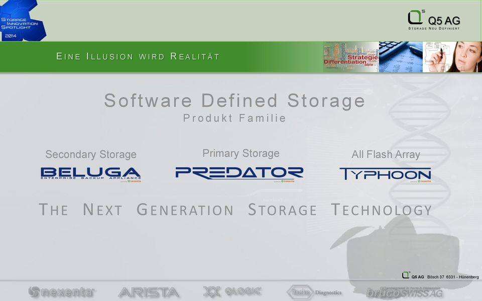 i e Secondary Storage Primary Storage All Flash