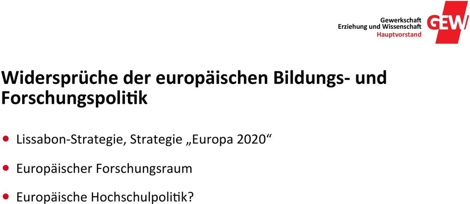 Strategie, Strategie Europa 2020