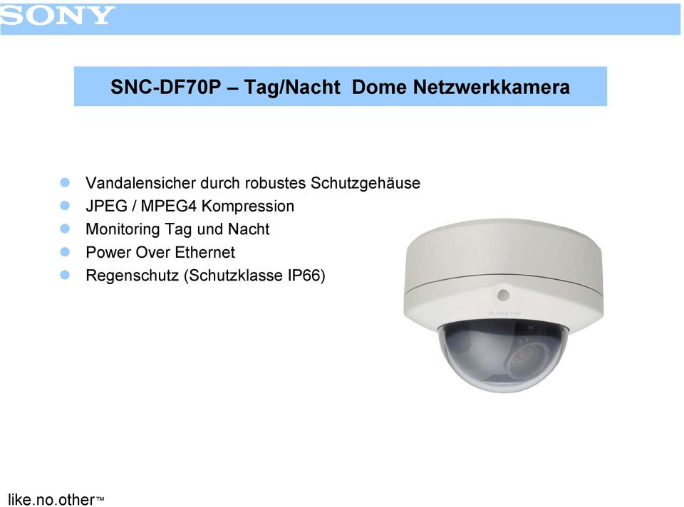 JPEG / MPEG4 Kompression Monitoring Tag und