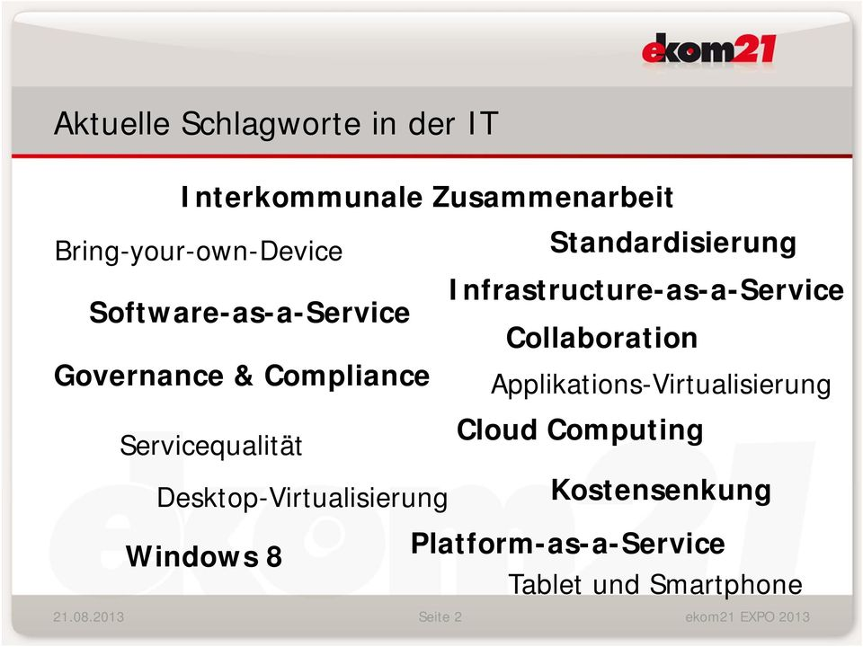 Infrastructure-as-a-Service Collaboration Applikations-Virtualisierung Cloud Computing