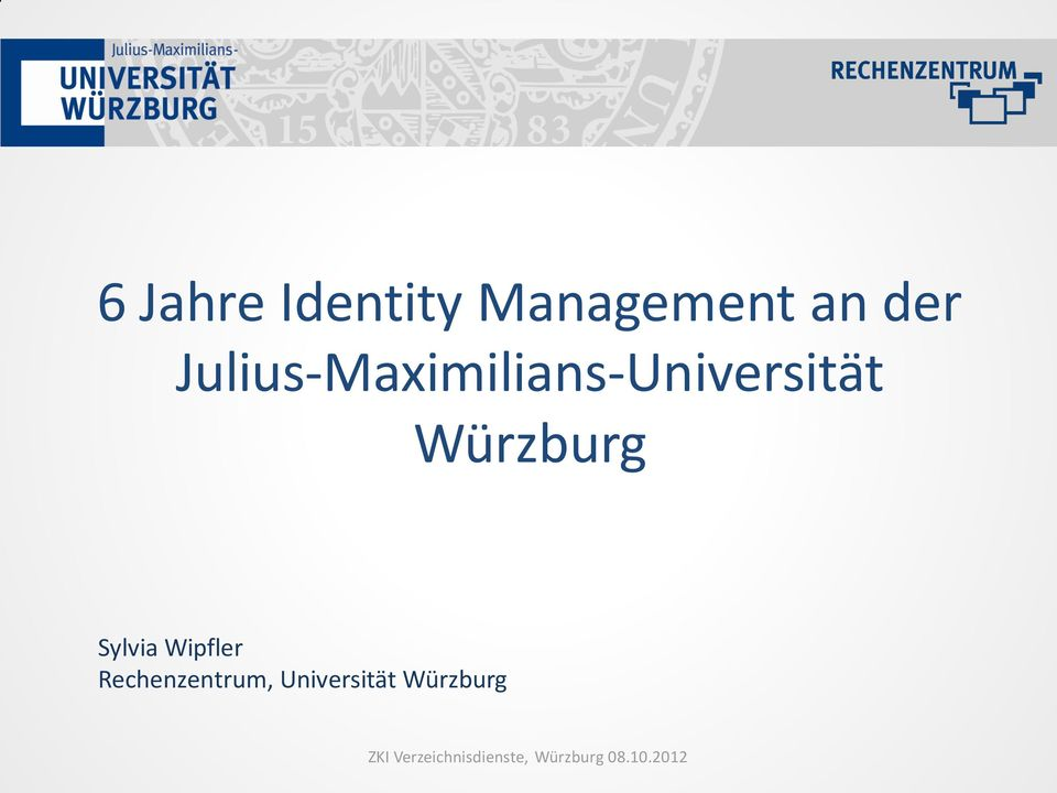 Julius-Maximilians-Universität