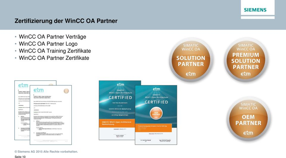 Partner Logo WinCC OA Training