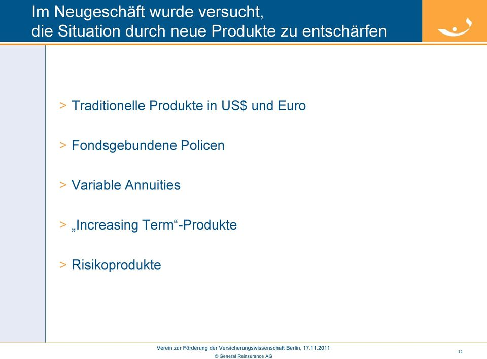in US$ und Euro > Fondsgebundene Policen > Variable