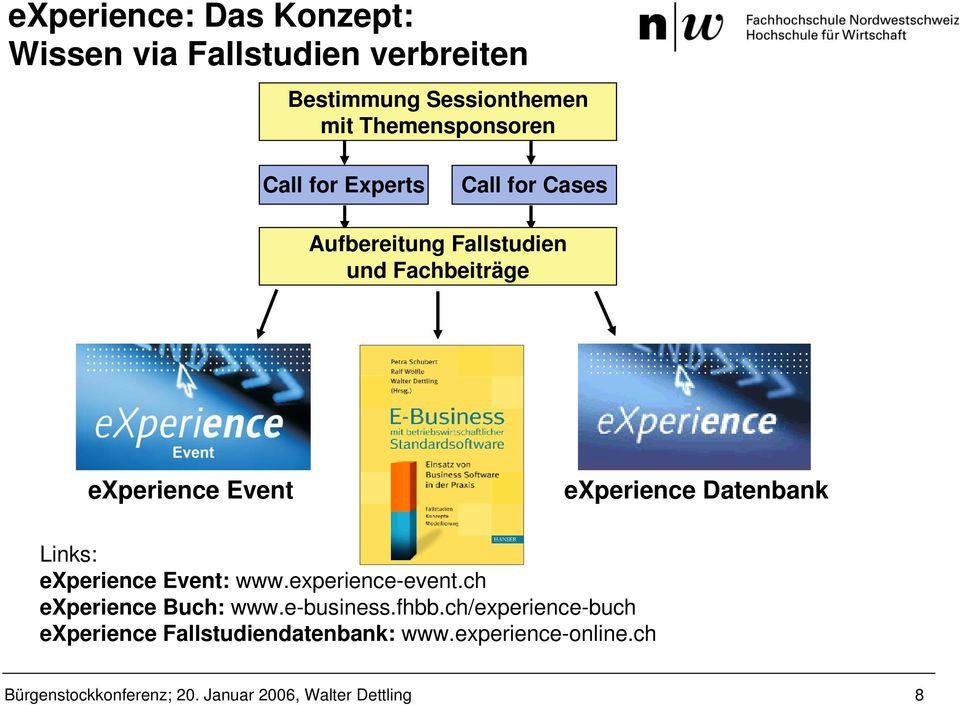 experience Event experience Datenbank Links: experience Event: www.experience-event.