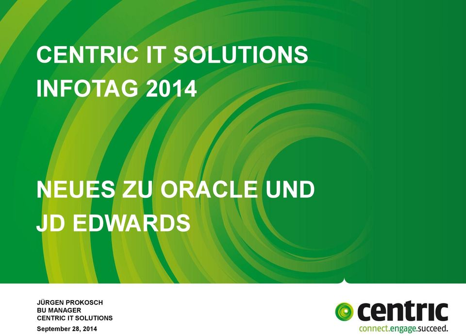 ORACLE UND JD EDWARDS