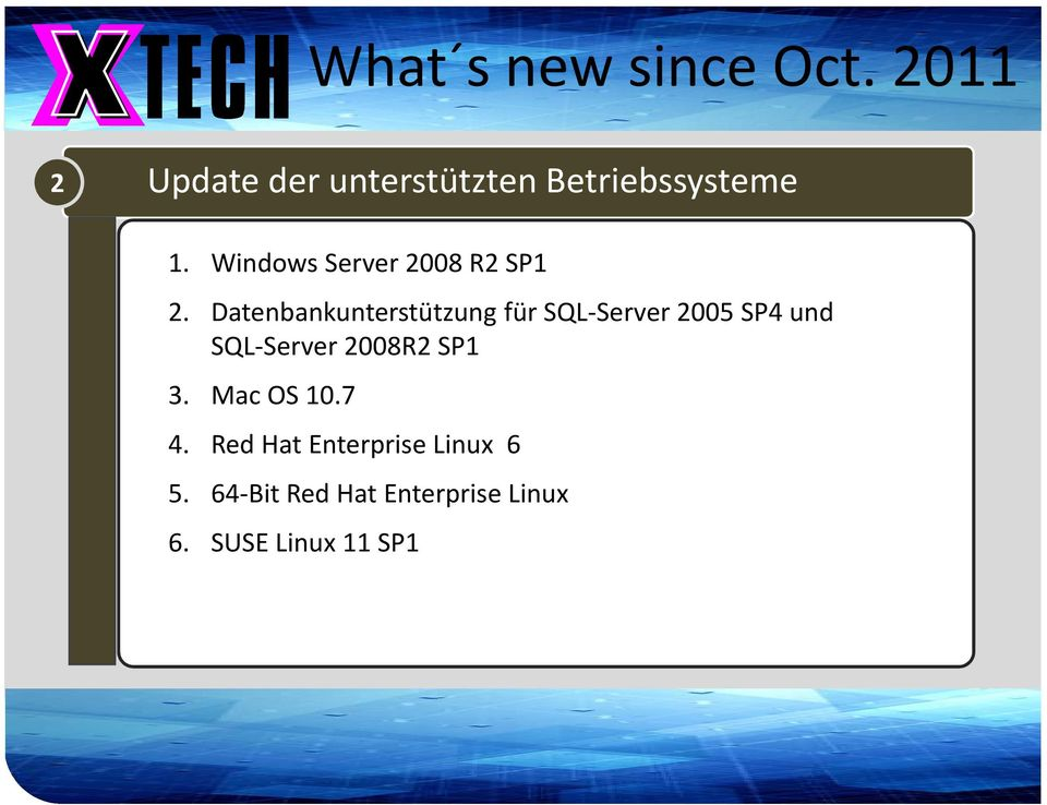 Windows Server 2008 R2 SP1 2.