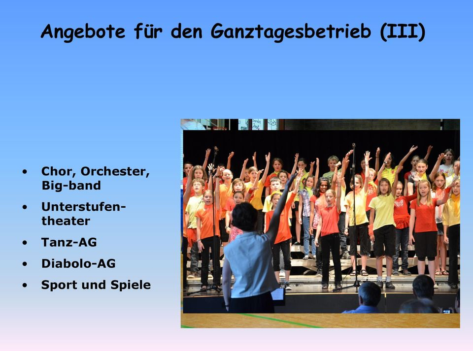 Orchester, Big-band