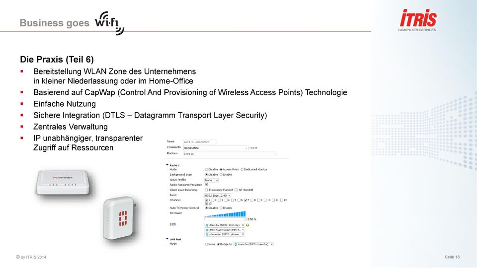 Points) Technologie Einfache Nutzung Sichere Integration (DTLS Datagramm Transport Layer