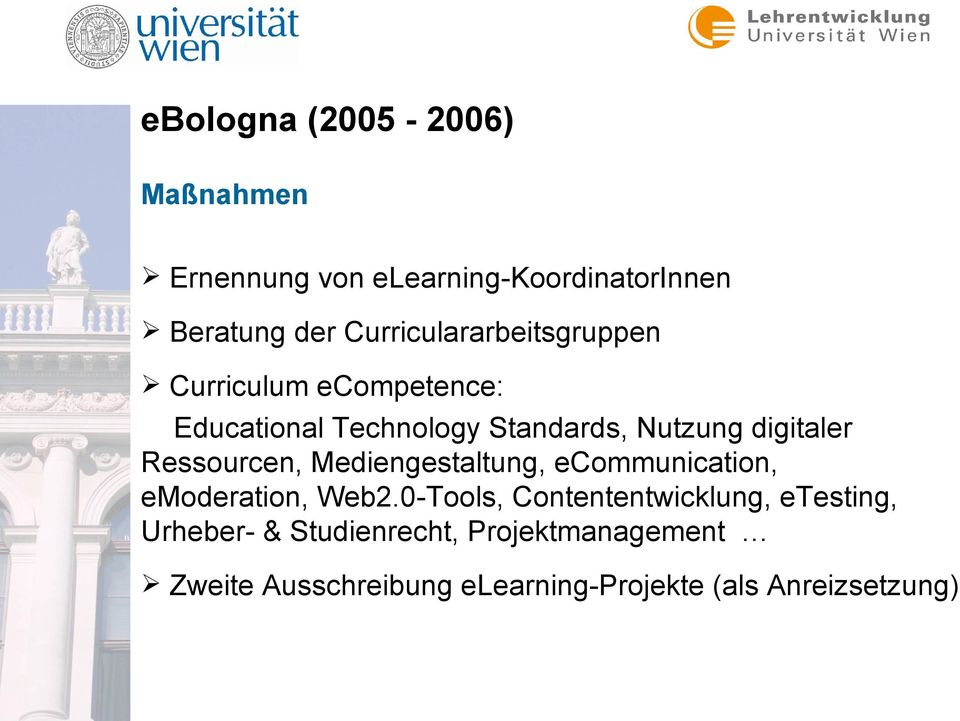 digitaler Ressourcen, Mediengestaltung, ecommunication, emoderation, Web2.