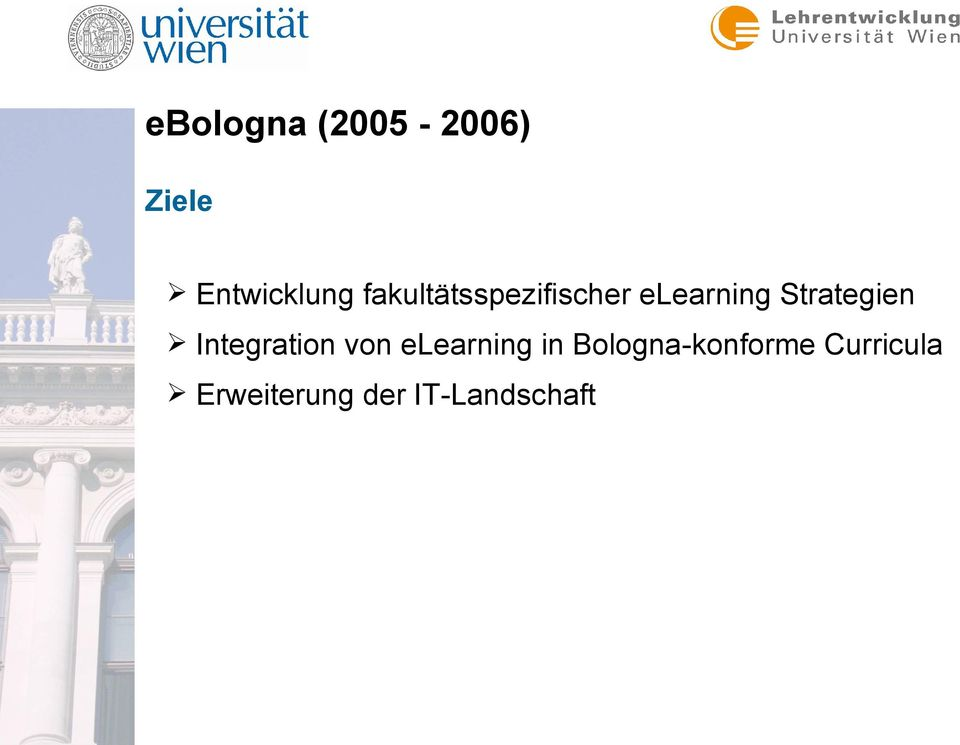 Strategien Integration von elearning in