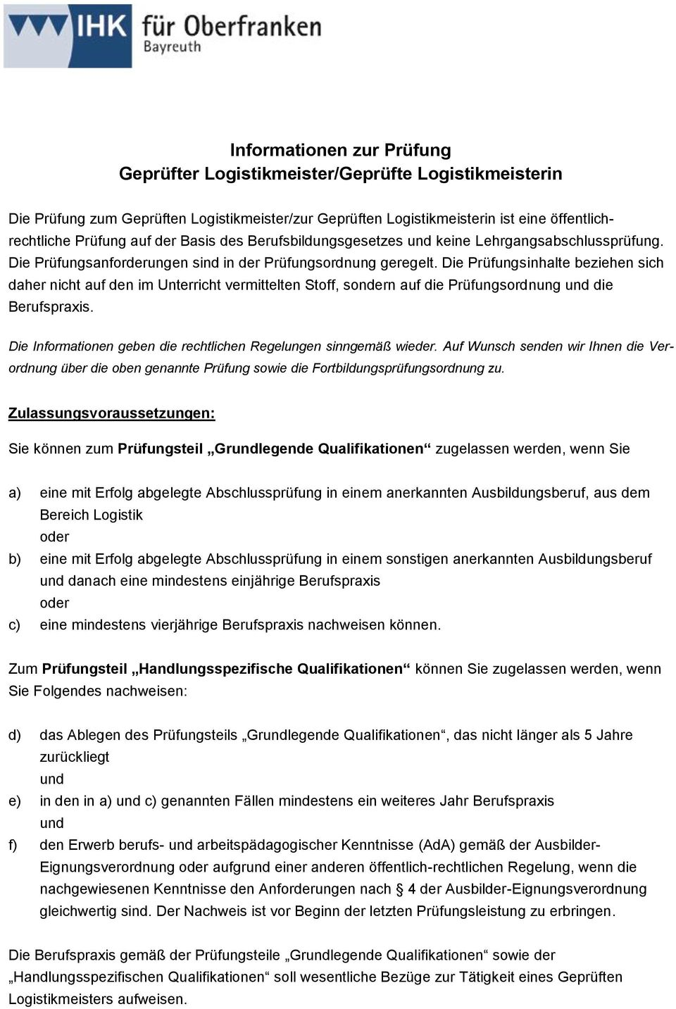prüfung logistikmeister download