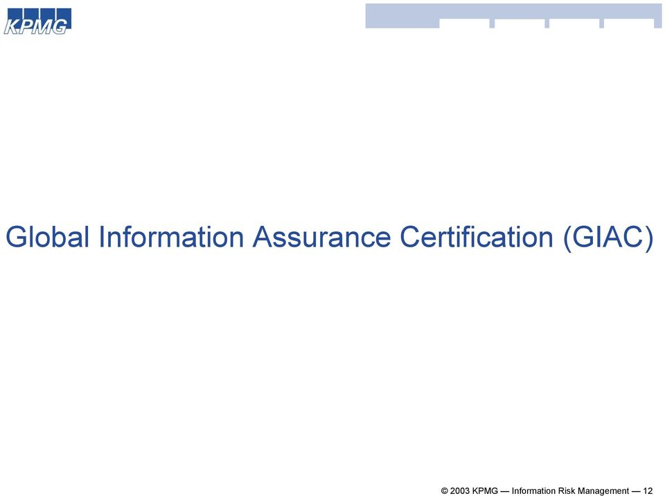 Certification (GIAC)