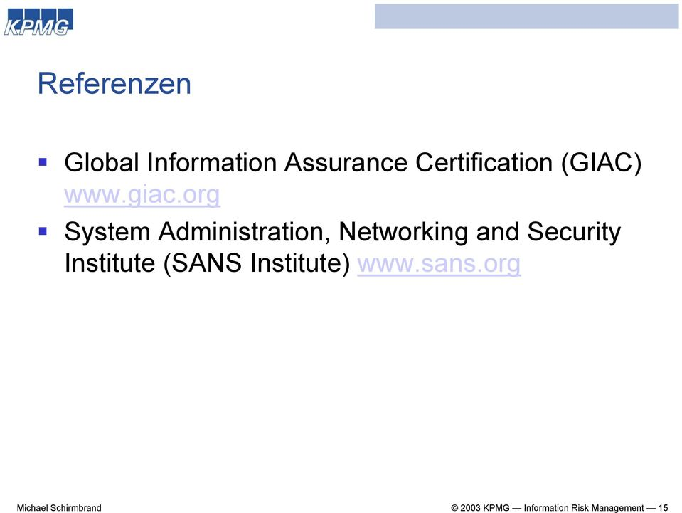 org System Administration, Networking and Security