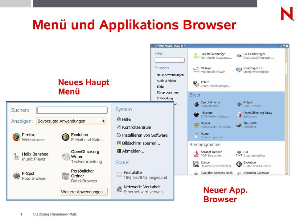 Browser Neues