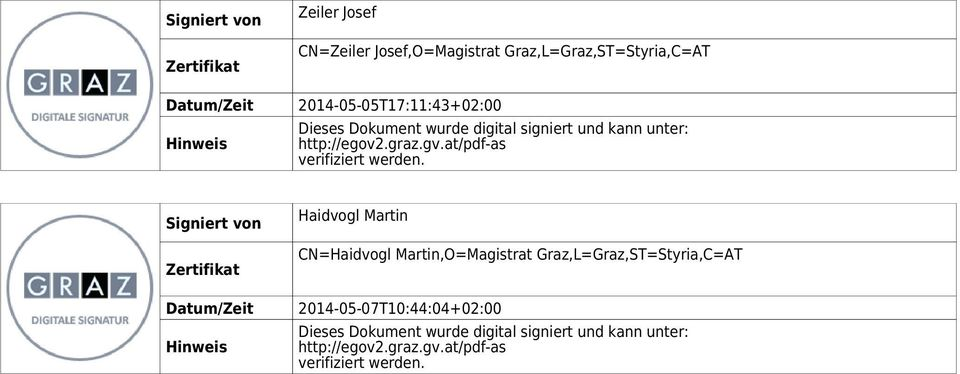 at/pdf-as verifiziert werden.
