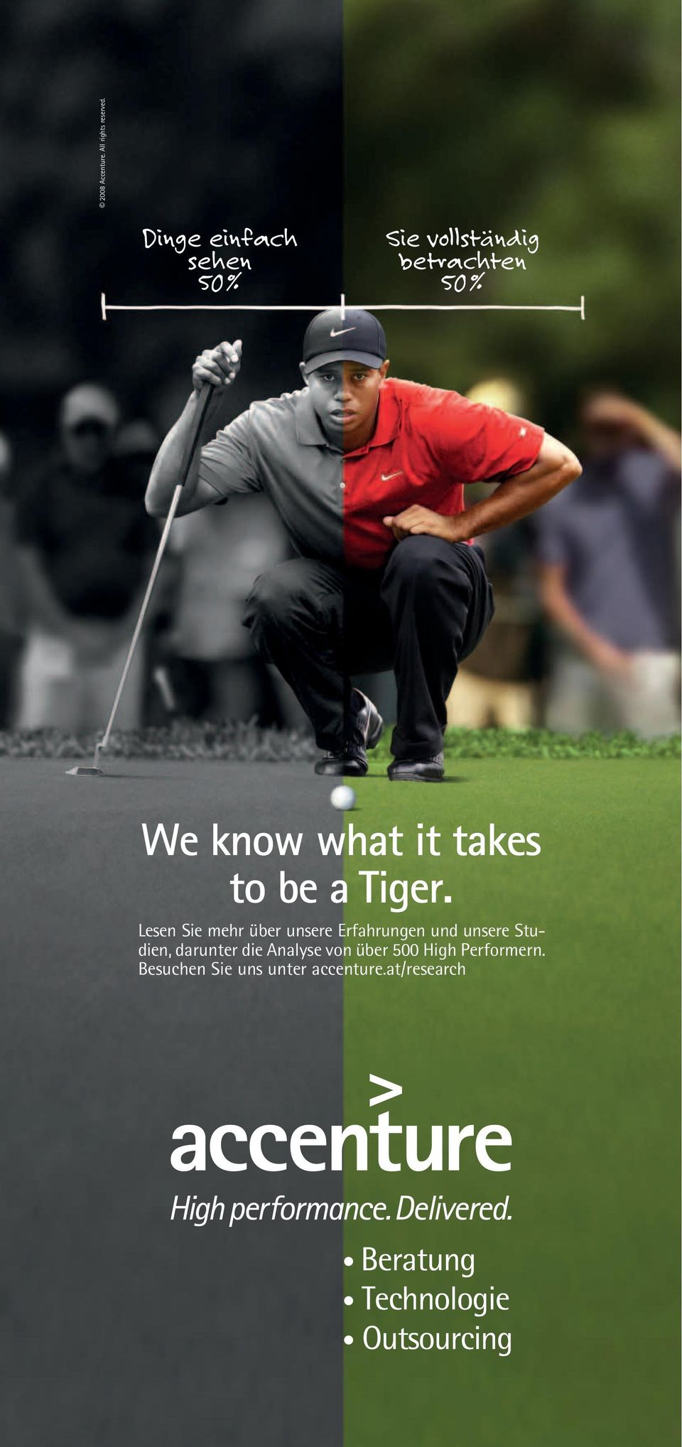 it takes to be a Tiger.