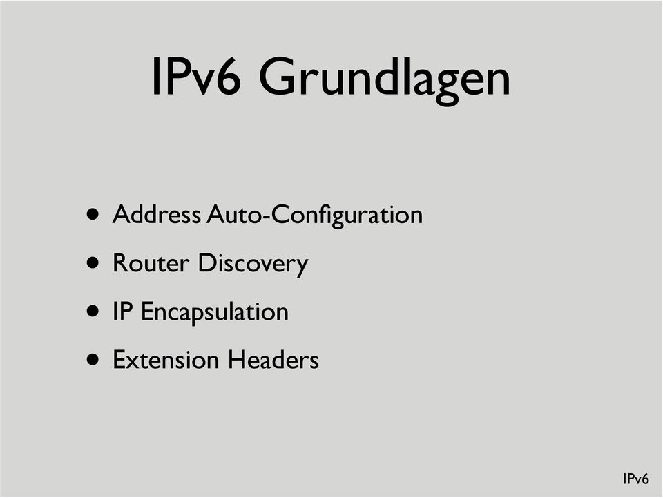 Router Discovery IP