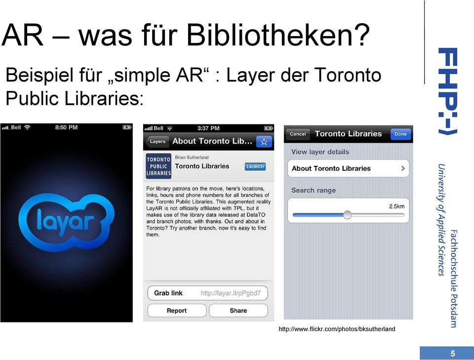 der Toronto Public Libraries: