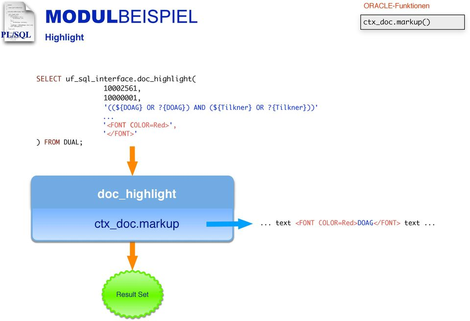 doc_highlight( 10002561, 10000001, ) FROM DUAL; '((${DOAG} OR?