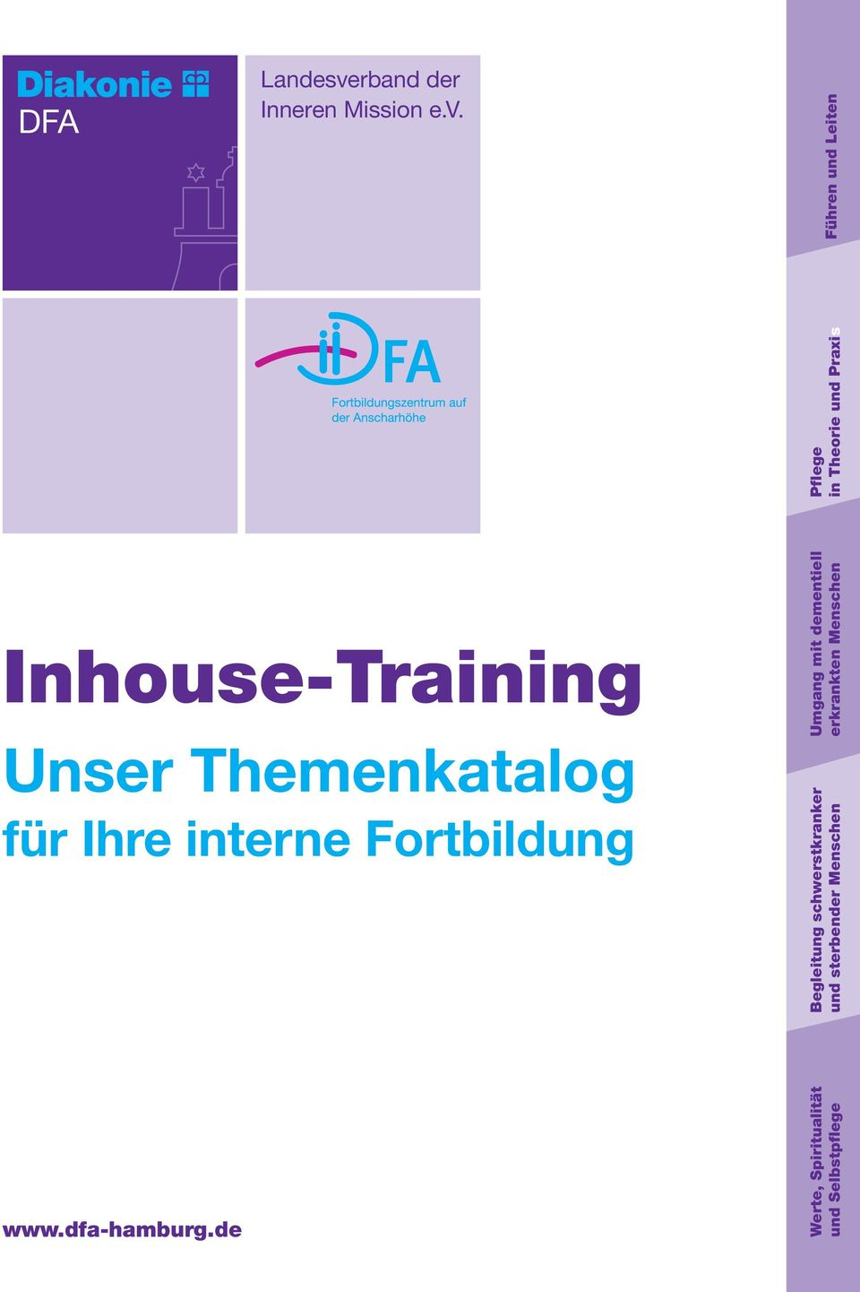Inhouse-Training Unser Themenkatalog