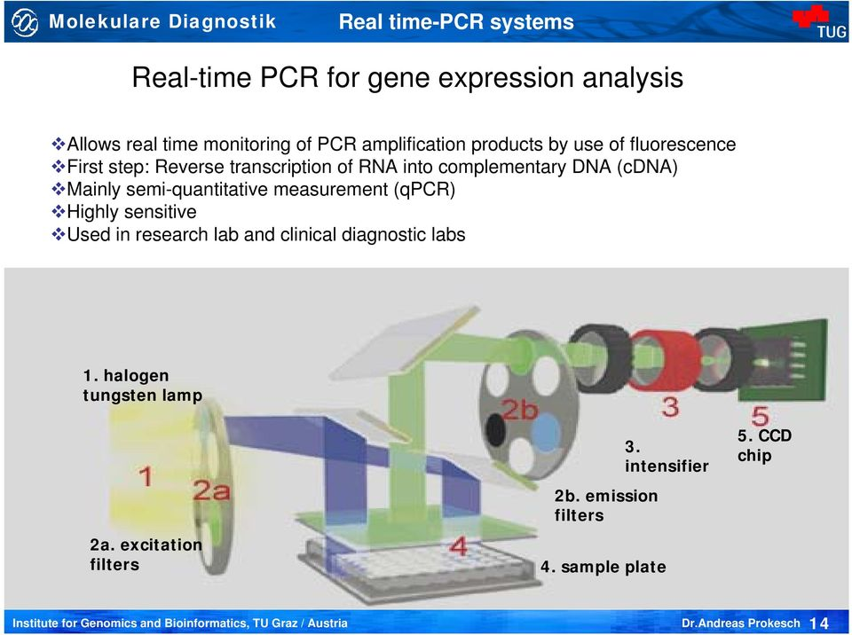(cdna) Mainly semi-quantitative measurement (qpcr) Highly sensitive Used in research lab and clinical