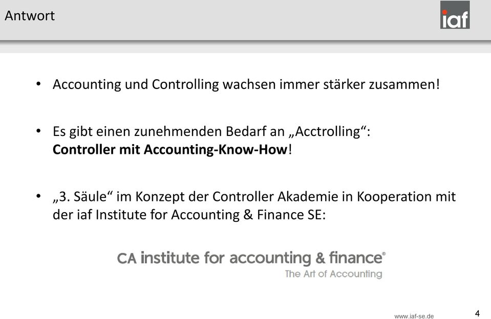 Accounting-Know-How! 3.