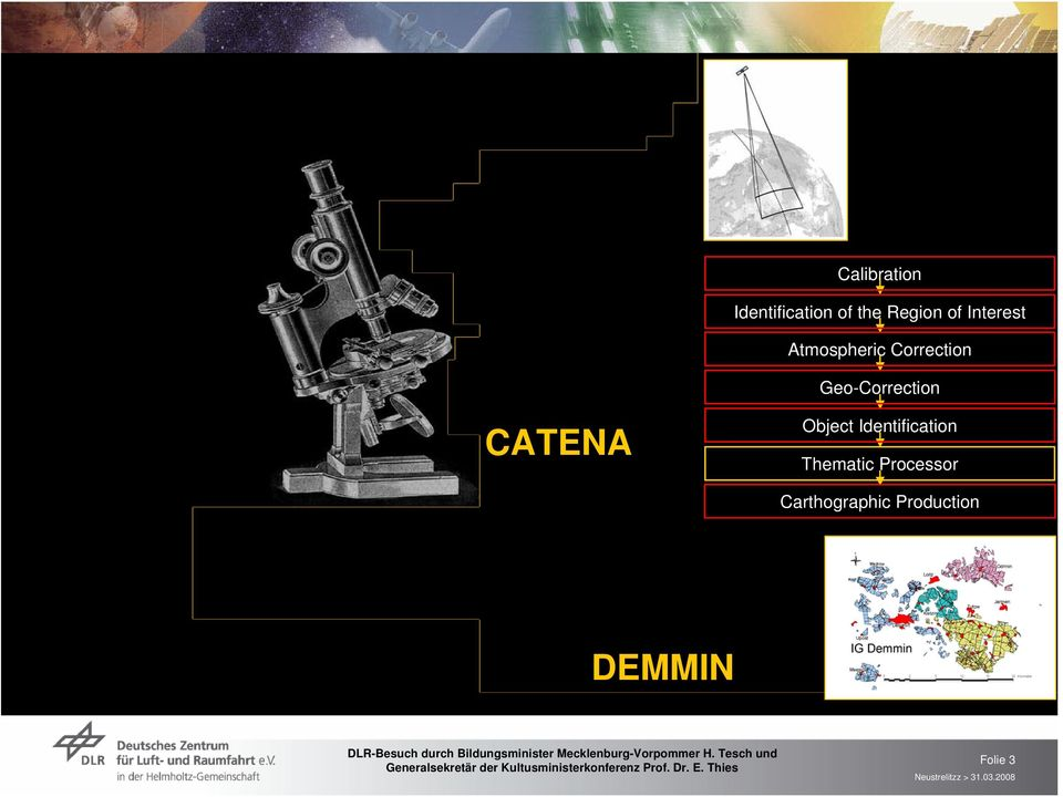 Geo-Correction CATENA Object Identification