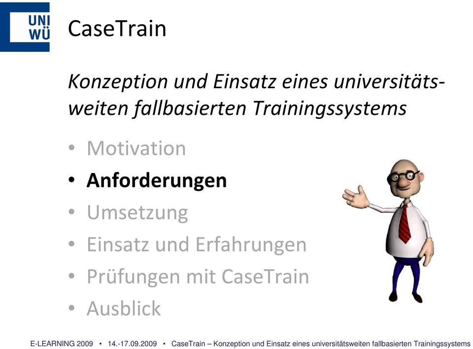 Trainingssystems Motivation Anforderungen