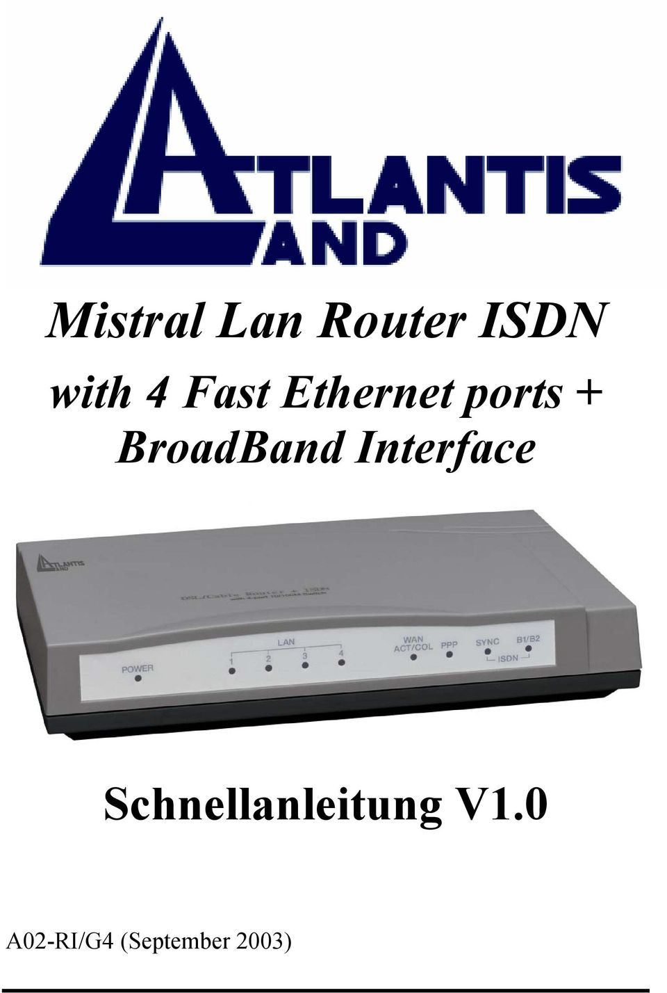 BroadBand Interface