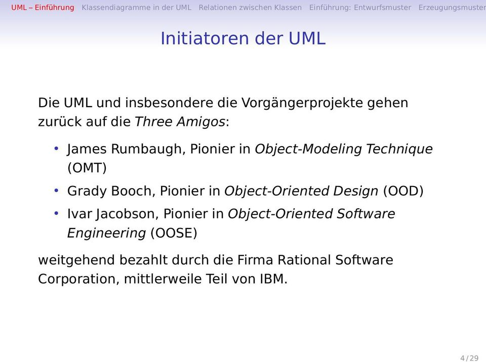 Object-Oriented Design (OOD) Ivar Jacobson, Pionier in Object-Oriented Software Engineering