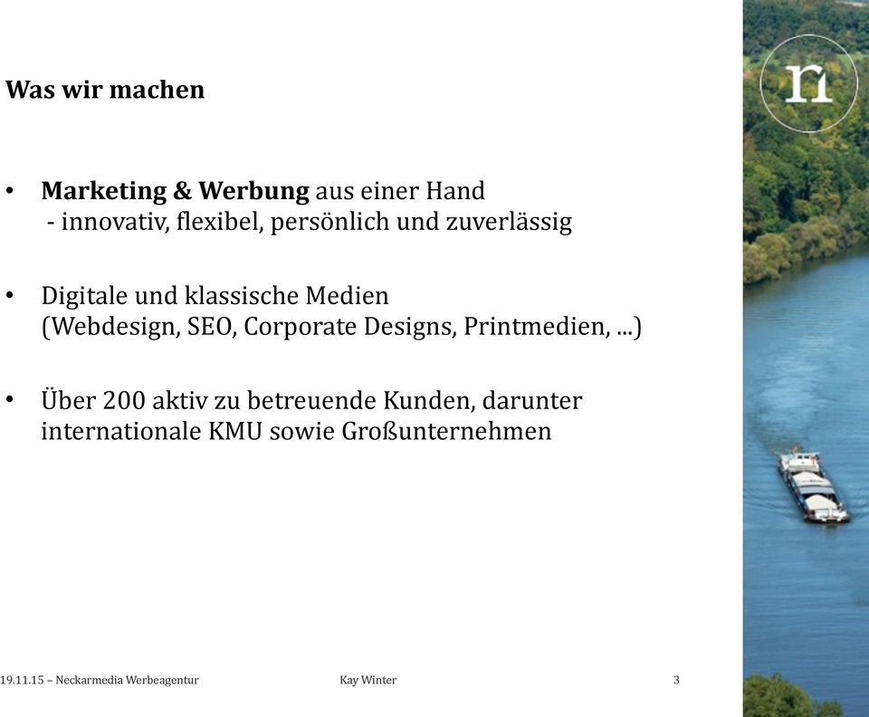 (Webdesign, SEO, Corporate Designs, Printmedien,.