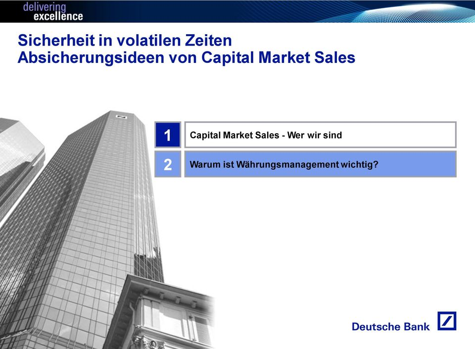 Sales 1 Capital Market Sales - Wer