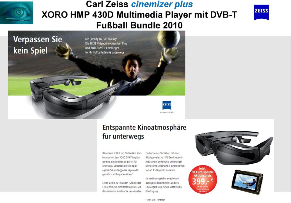 Multimedia Player mit