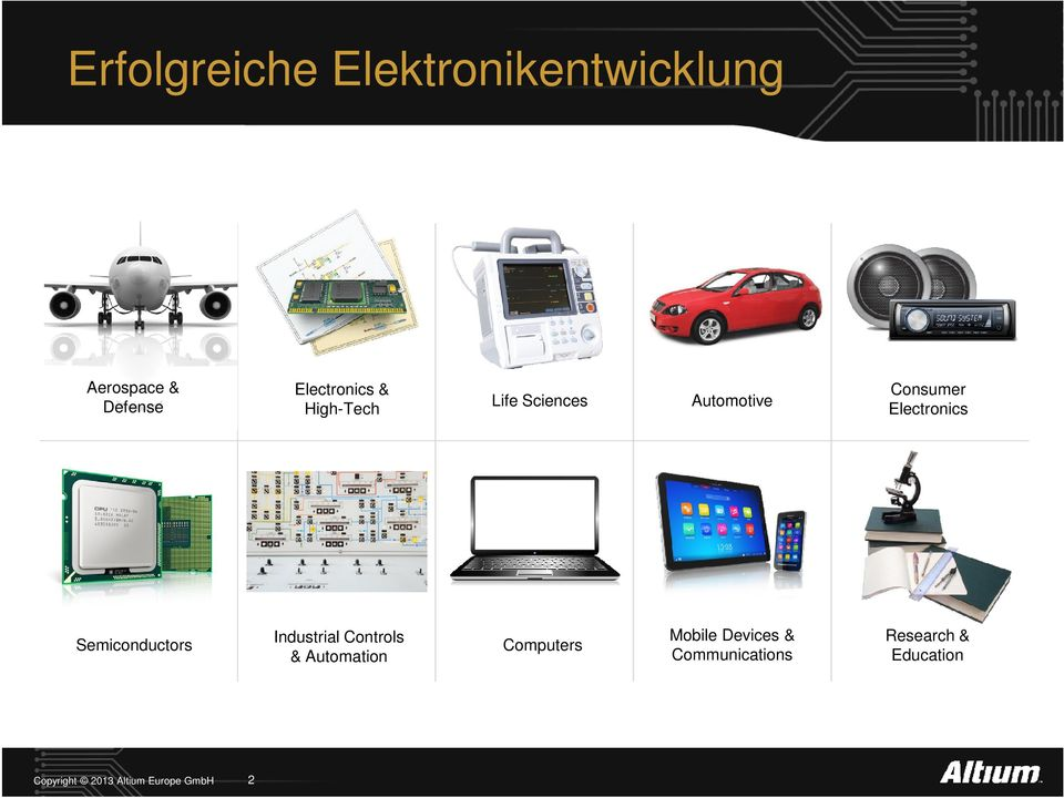 Electronics Semiconductors Industrial Controls & Automation