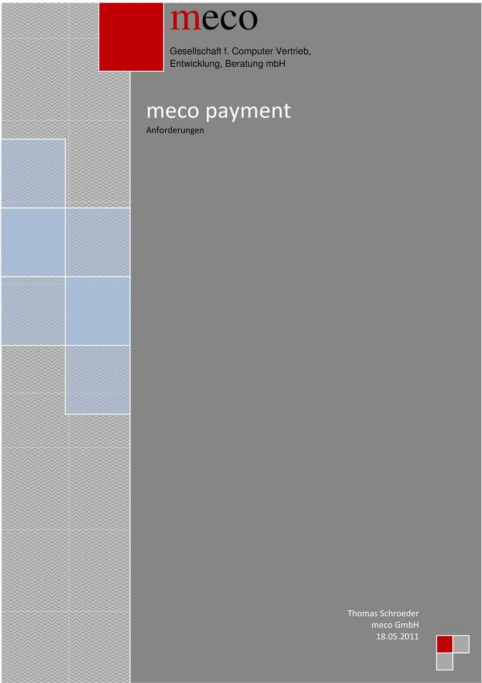 Beratung mbh meco payment