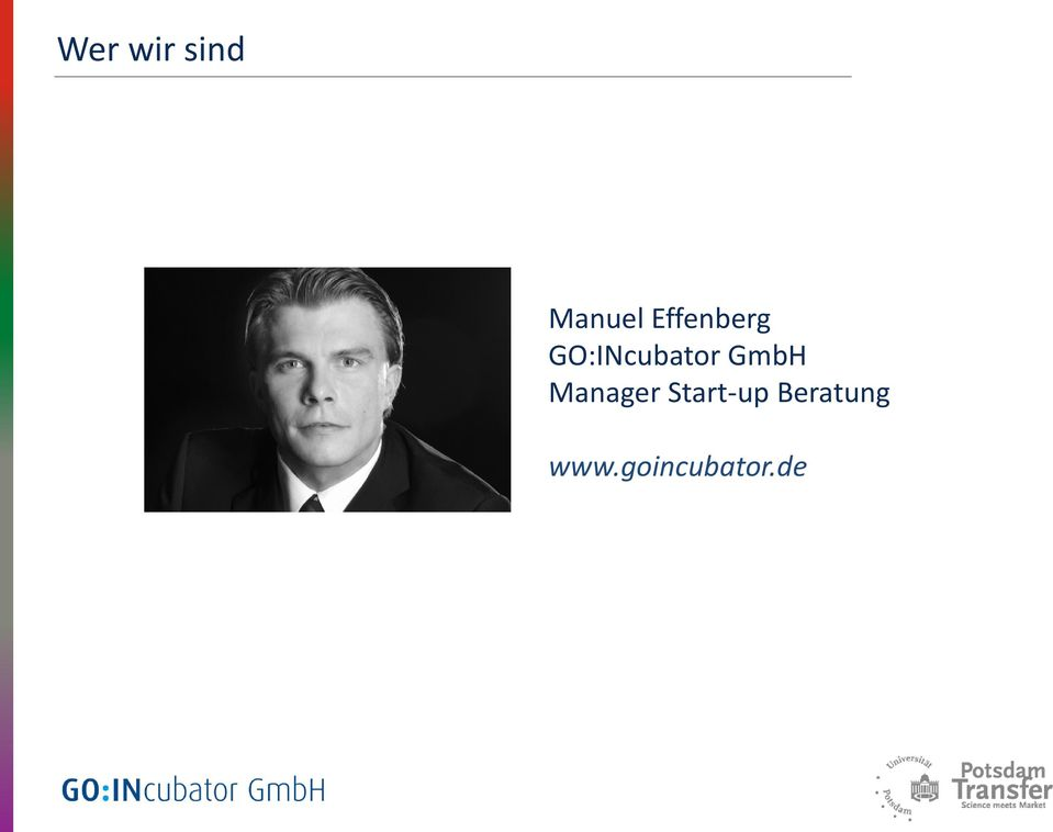 GmbH Manager Start-up