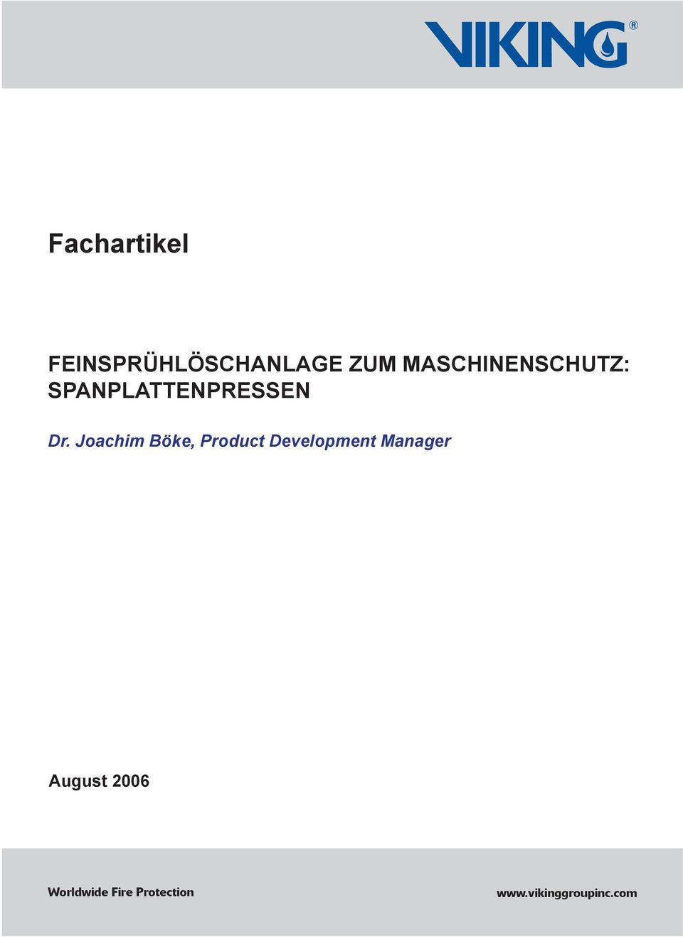Joachim Böke, Product Development
