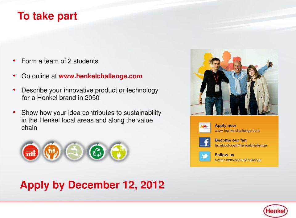 com Describe your innovative product or technology for a Henkel brand
