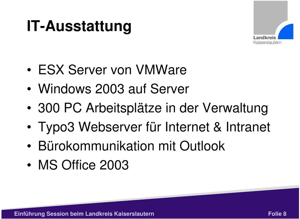 Internet & Intranet Bürokommunikation mit Outlook MS Office