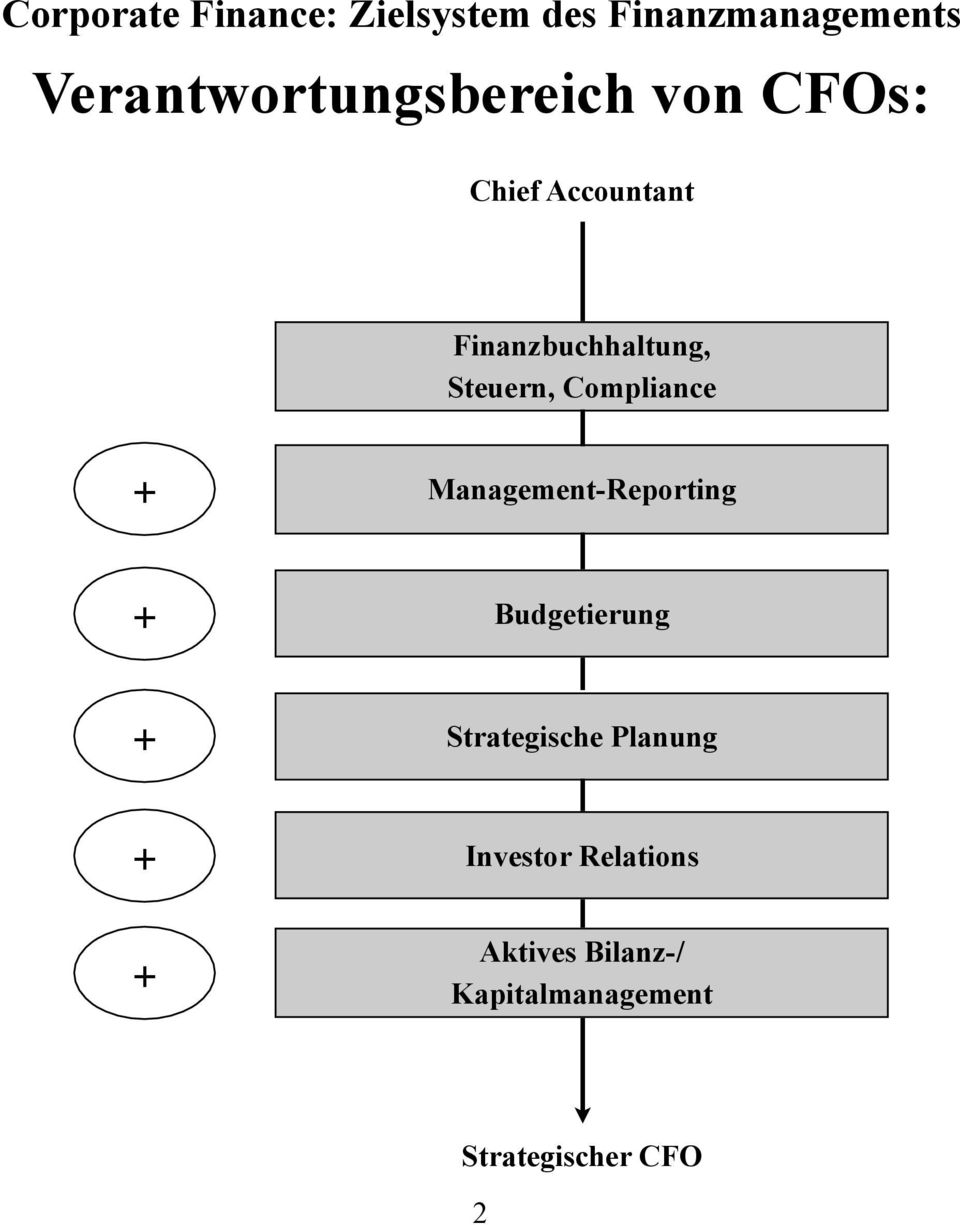 Management-Reporting + Budgetierung + Strategische