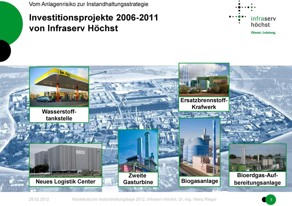 Krafwerk Neues Logistik Center Zweite
