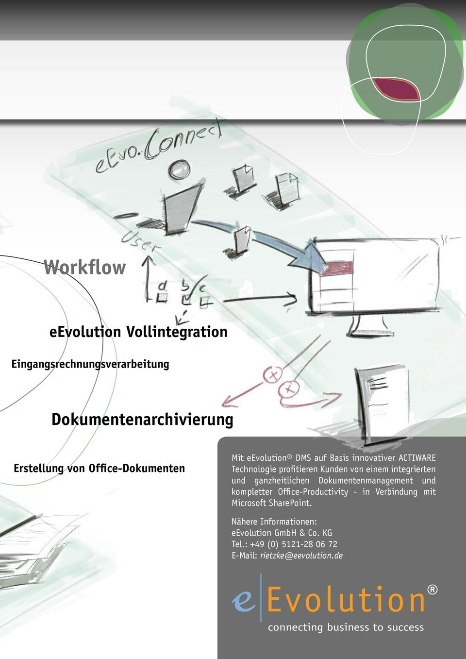 Office-Productivity - in Verbindung mit Microsoft SharePoint.
