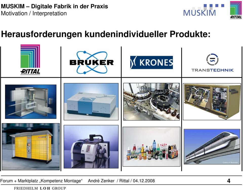 Produkte: Courtesy of Bombardier Forum + Marktplatz