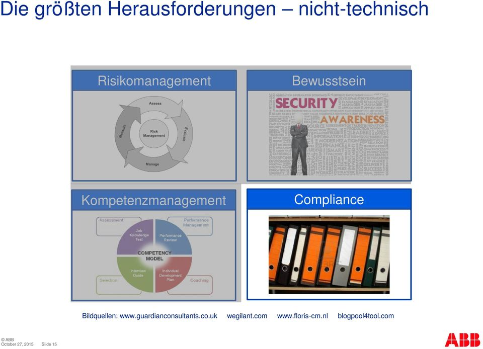 Compliance Bildquellen: www.guardianconsultants.co.uk wegilant.