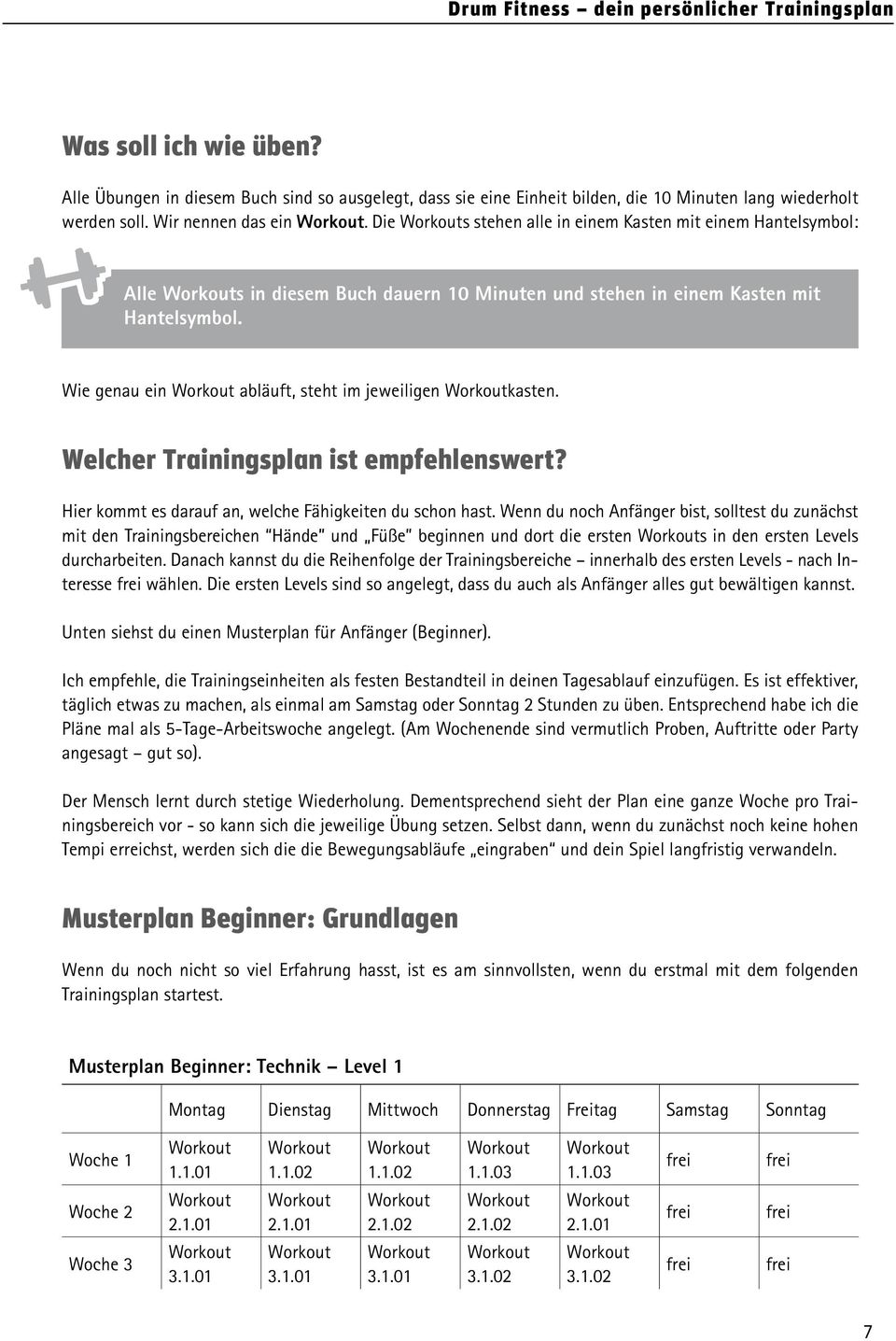 Wunderbar Probe Trainingsplan Vorlage Bilder - Entry Level Resume ...