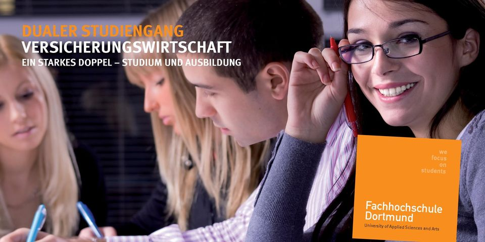 we focus on students Fachhochschule
